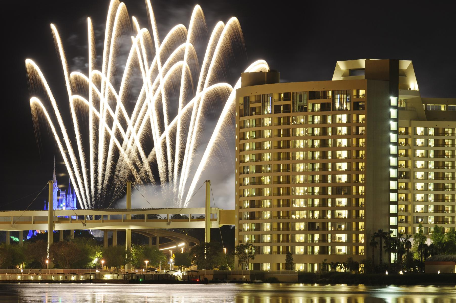 NYE Walt Disney World Contemporary Resort