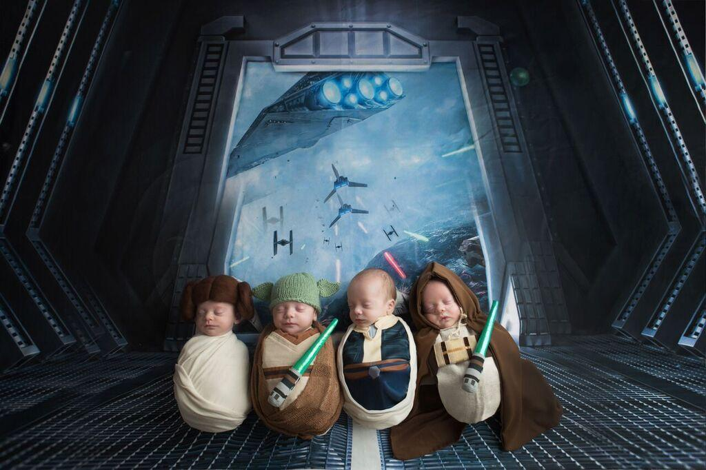 This Star Wars Preemie Photo Shoot is Better Than The Movie_still