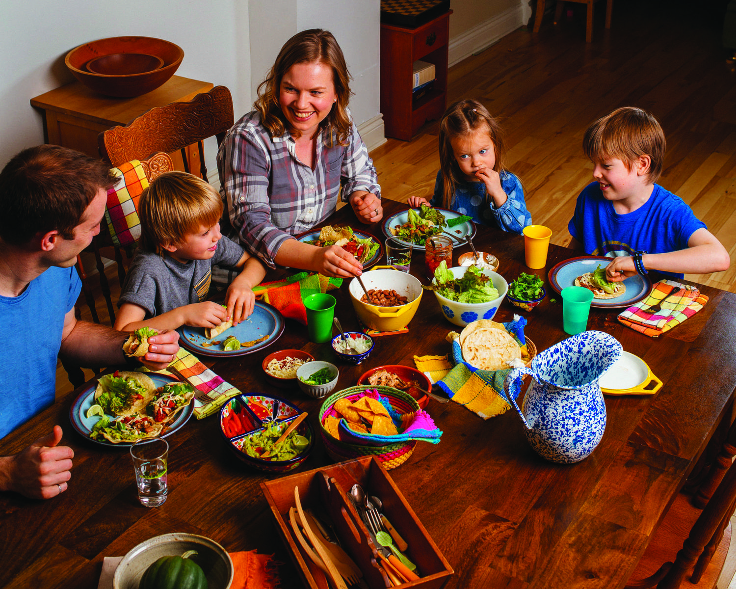 Healthy family food habits Aimee Wimbush-Bourque