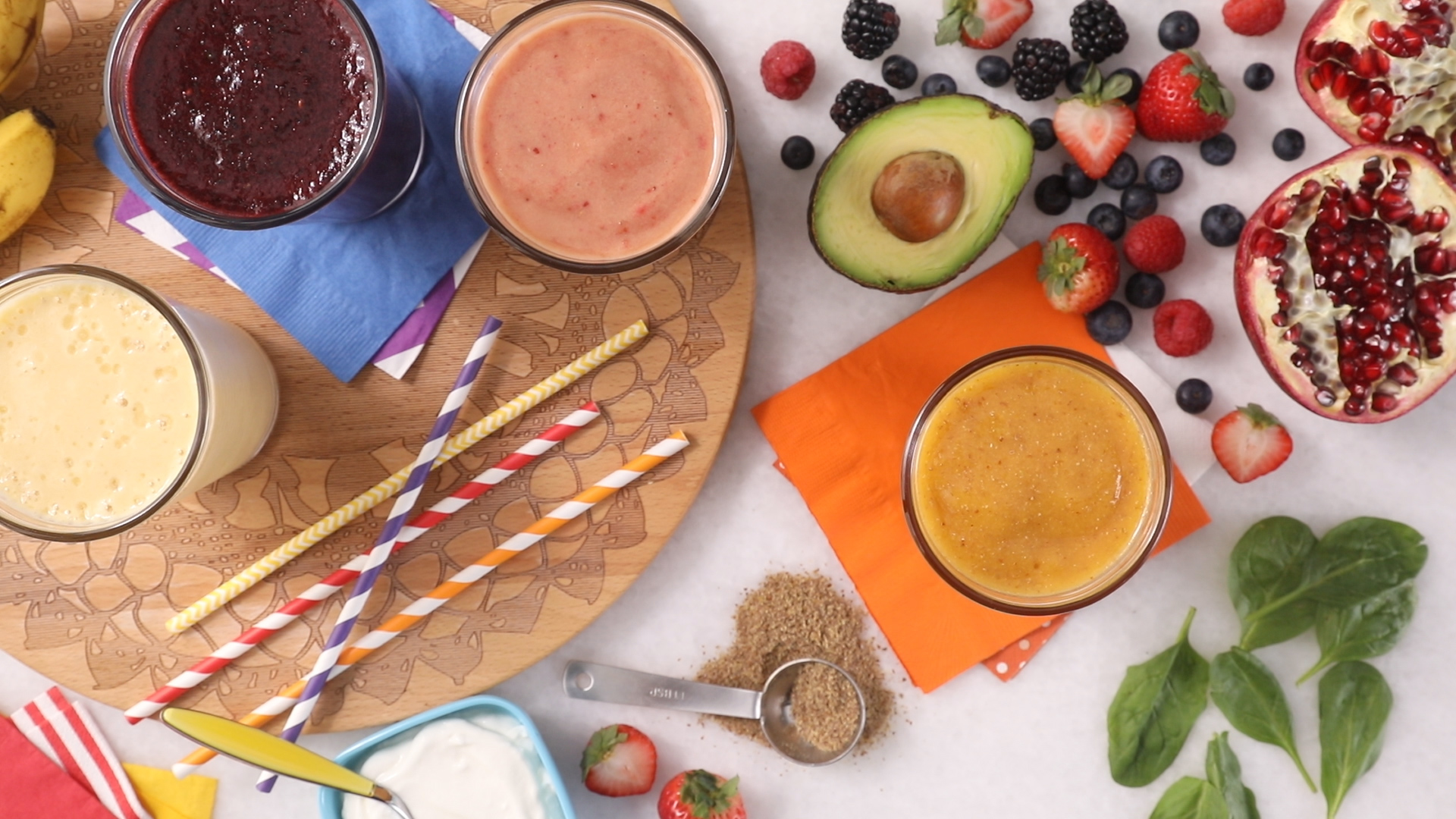 4 Ways to Healthy Up a Smoothie_still