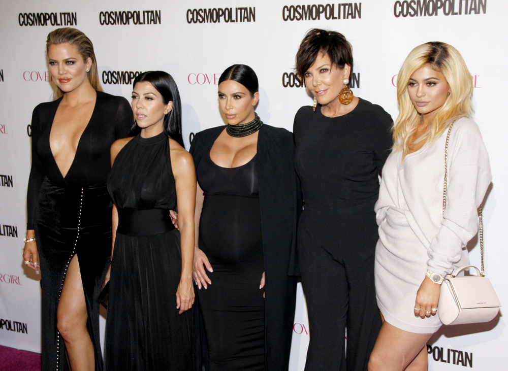 Kris Jenner with daughters