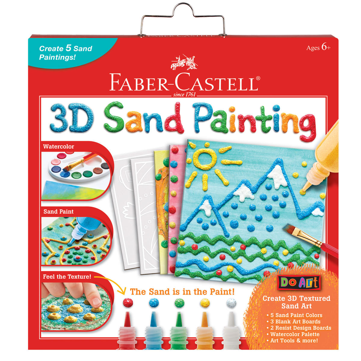 FF Toy Fair 2018 Faber-Castell Do Art 3D Sand Painting