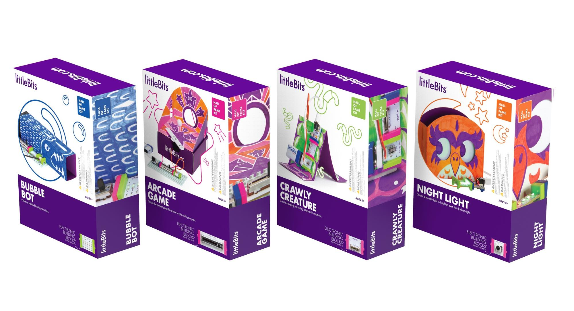 LittleBits Hall of Fame Kits