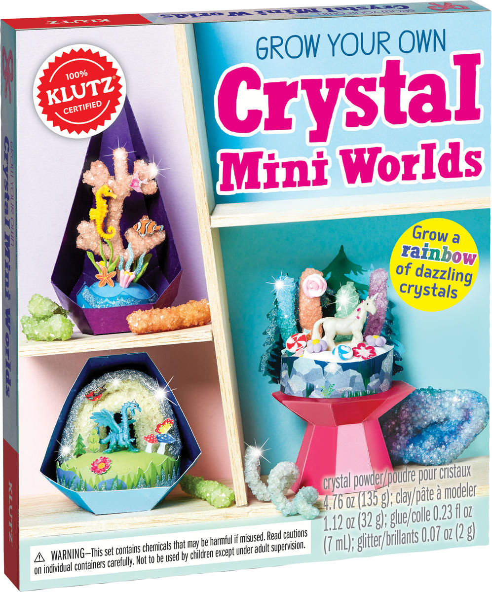 FF Toy Fair 2018 Klutz Grow Your Own Crystal Mini Worlds