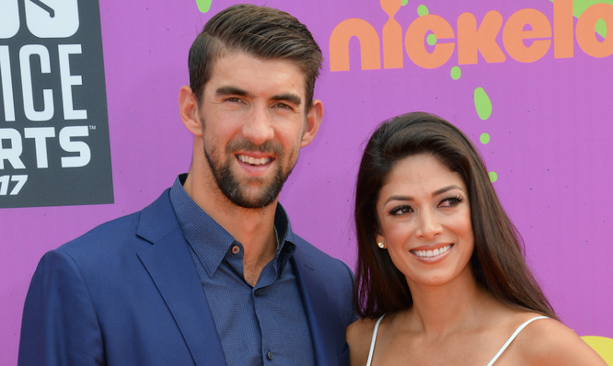 Michael and Nicole Phelps
