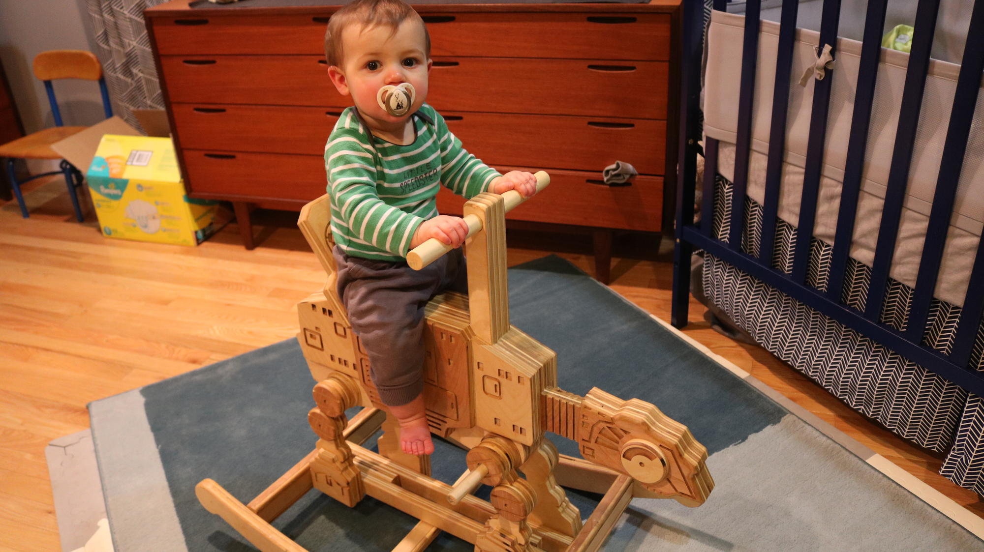 Dad Builds 'Star Wars'-Inspired Baby Furniture So Incredible, Even Yoda Would Approve_still