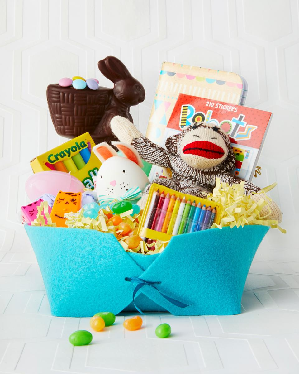 Reusable Easter Baskets Felt Basket