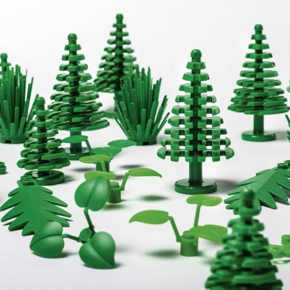 LEGO Collection Sustainably Made from Plants