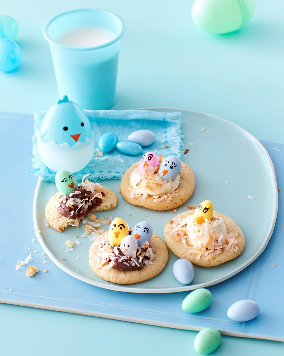 Extra Easter Candy Treats Little Chick Thumbprint Cookies