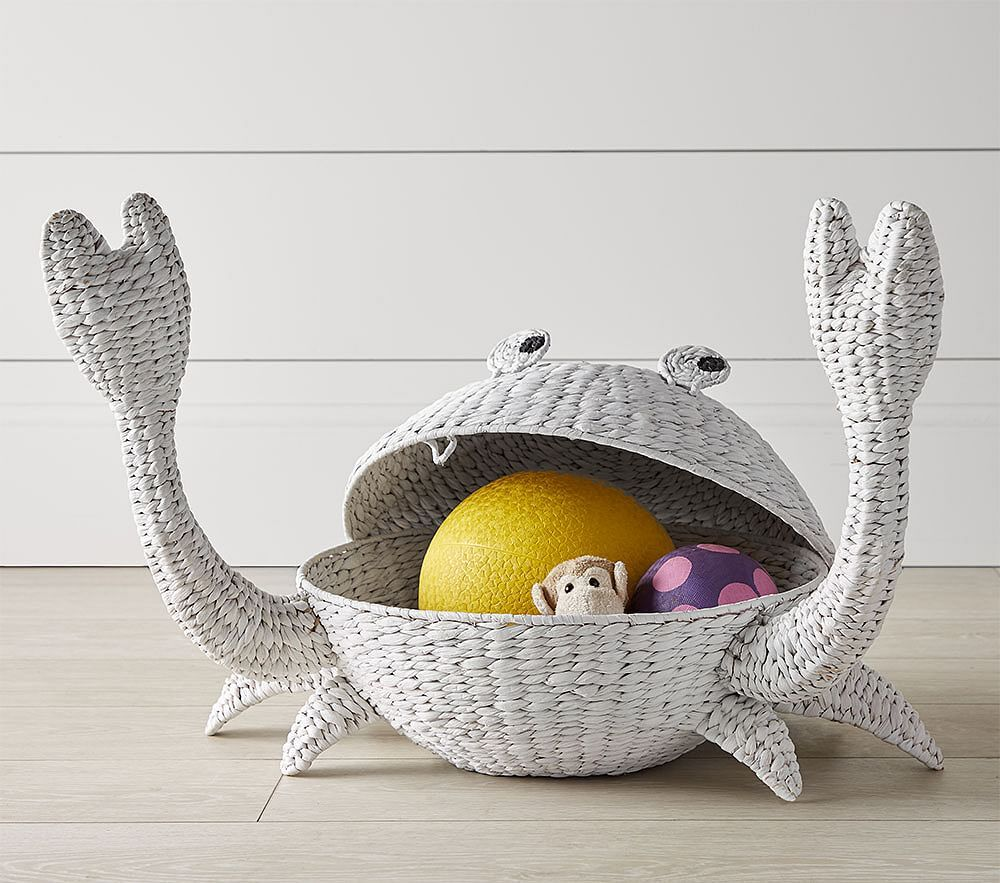 Pottery Barn Kids Crab Shaped Storage Basket