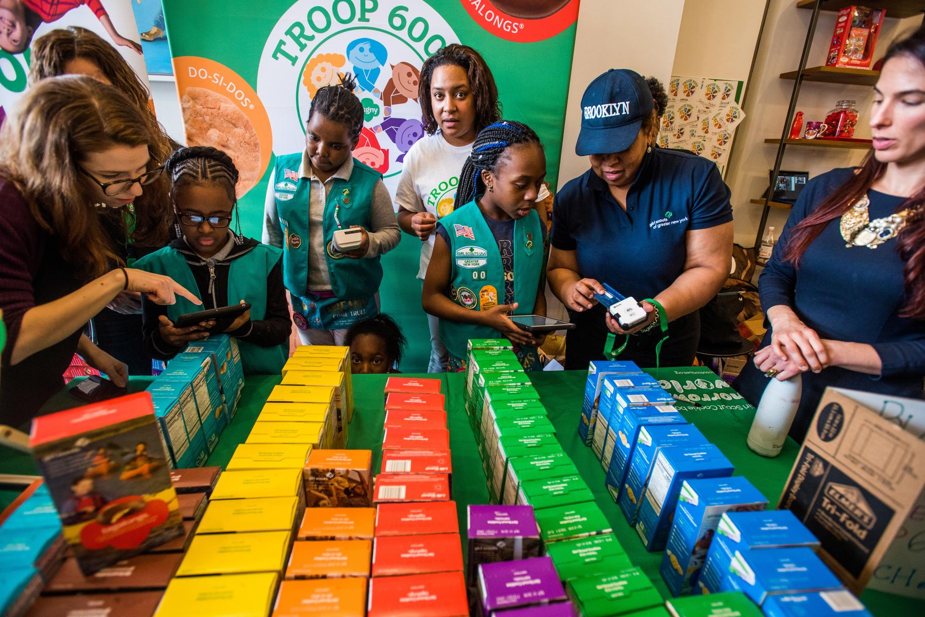 Kelloggs Cafe Event Girl Scouts