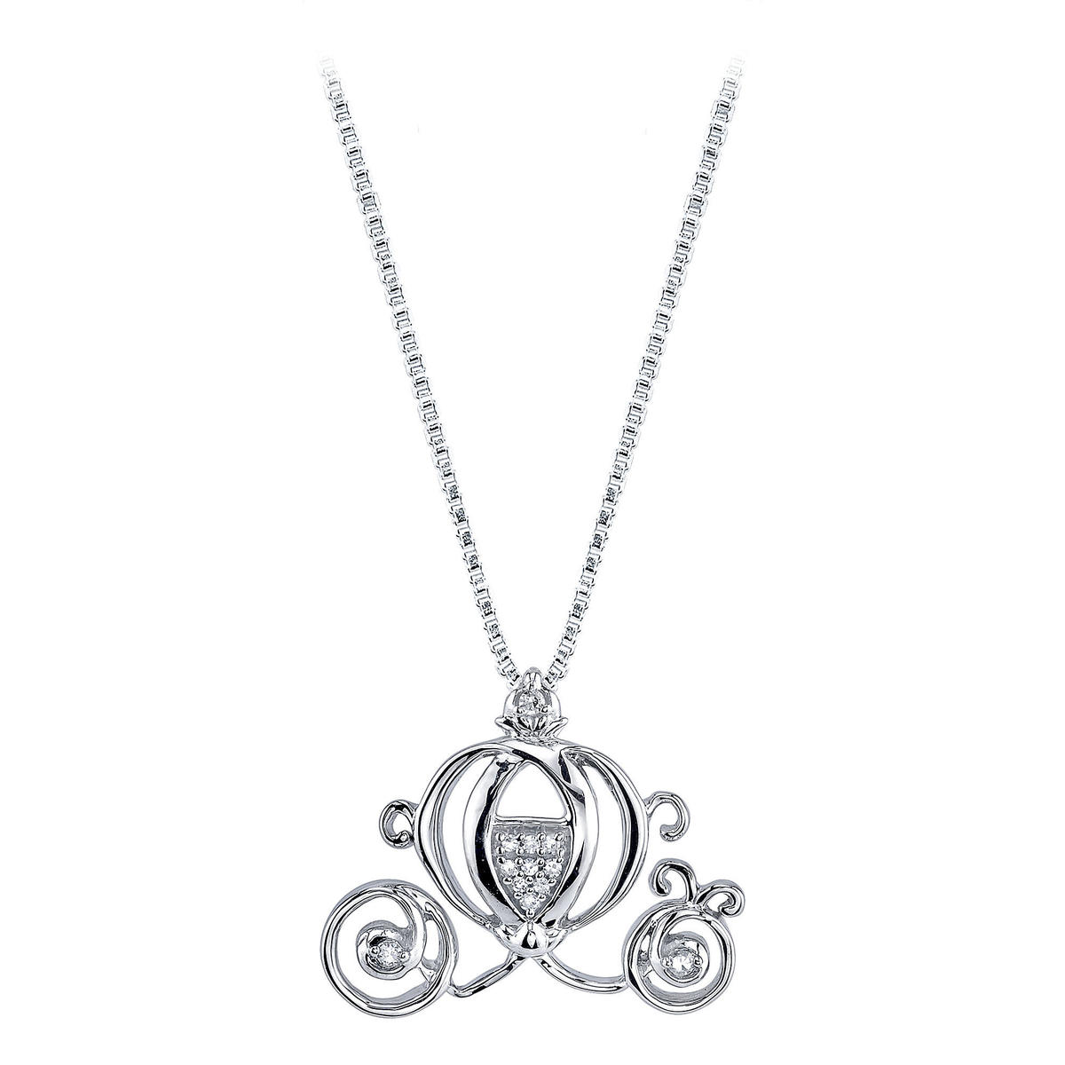 Disney Cinderella coach necklace