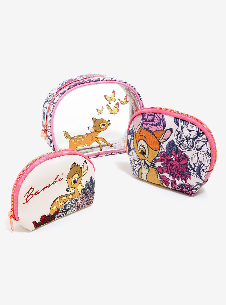 Loungefly Disney Bambi Makeup Bag Set