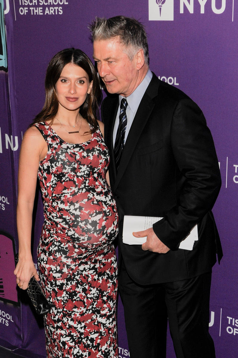 Pregnant Hilaria Thomas and Alec Baldwin