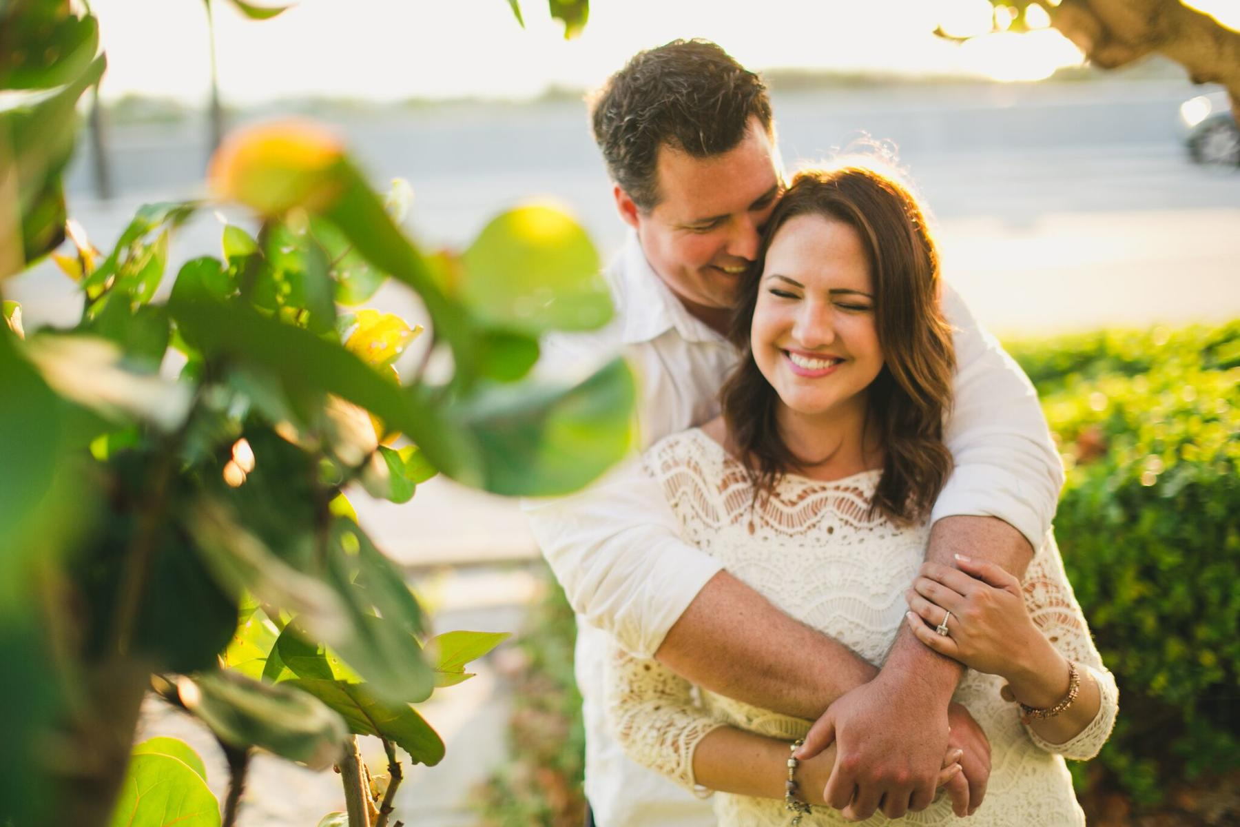 Amy and Justin Pounders' Engagement Photo