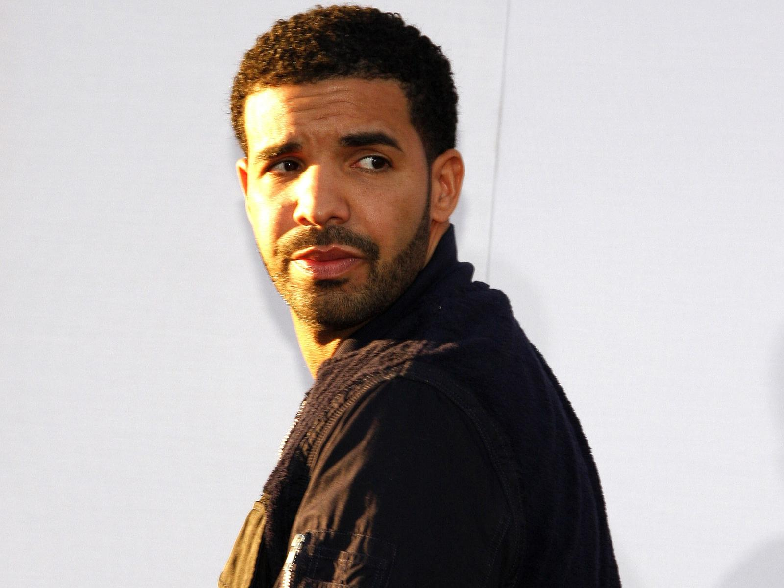 Rapper Drake Closeup
