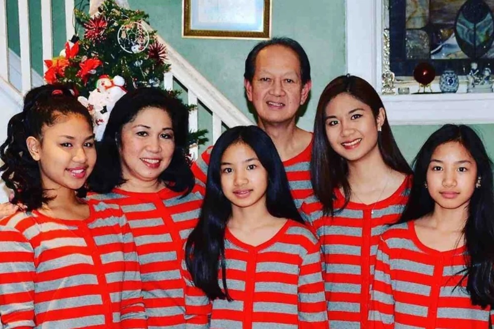 Mary Rose Trinidad and Family