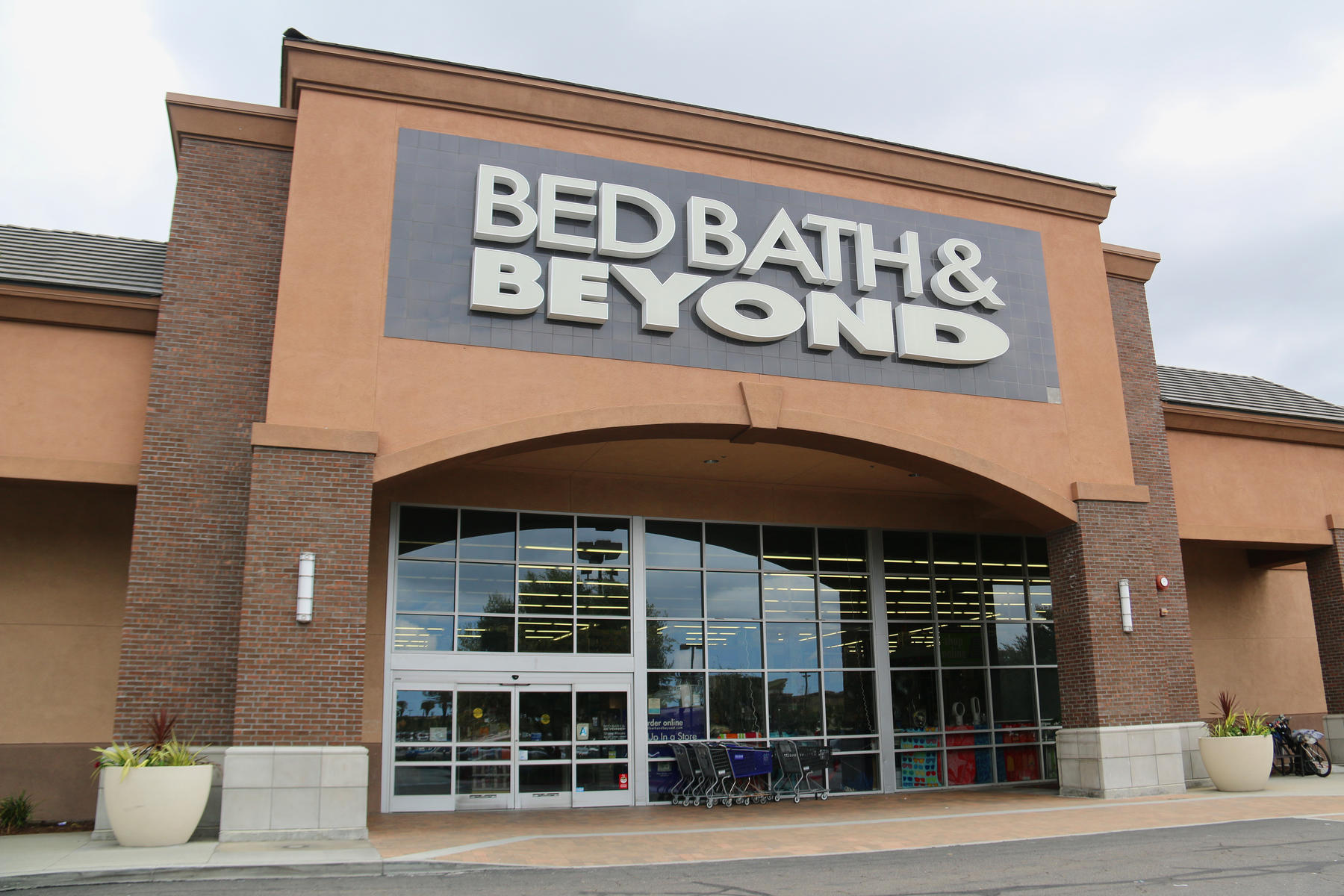 Bed Bath and Beyond Storefront