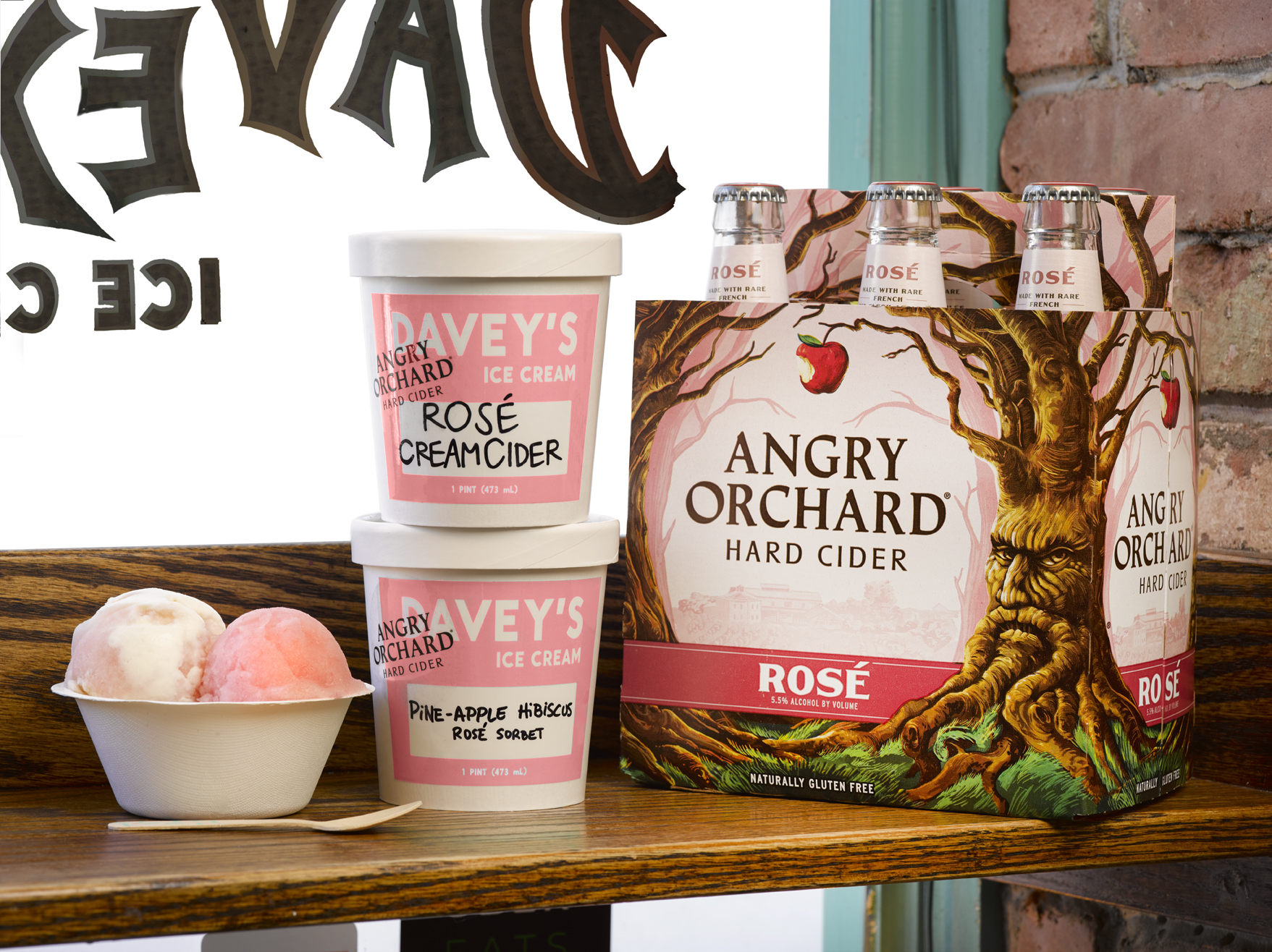 Angry Orchard X Davey's Ice Cream