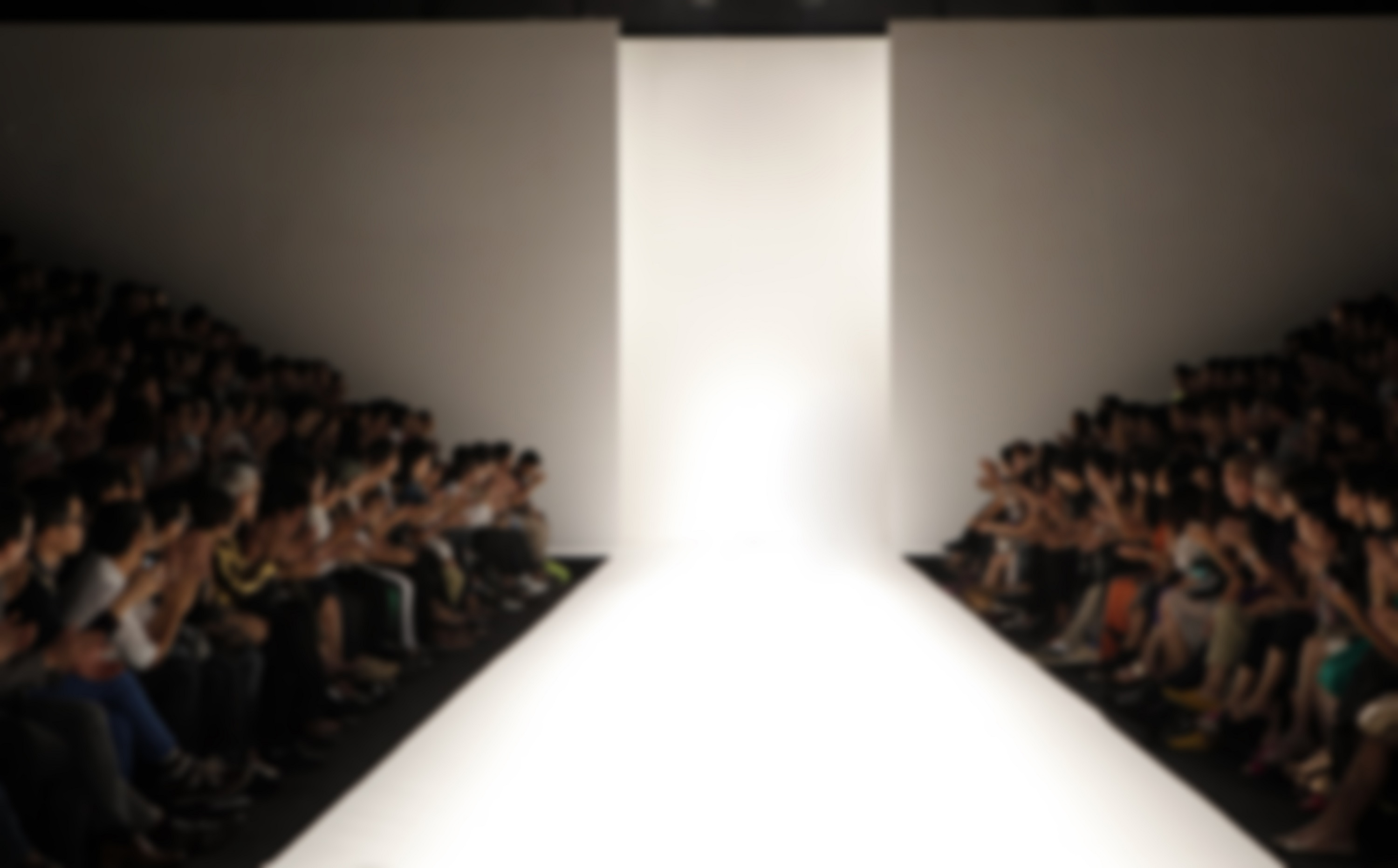 Fashion Runway Out of Focus