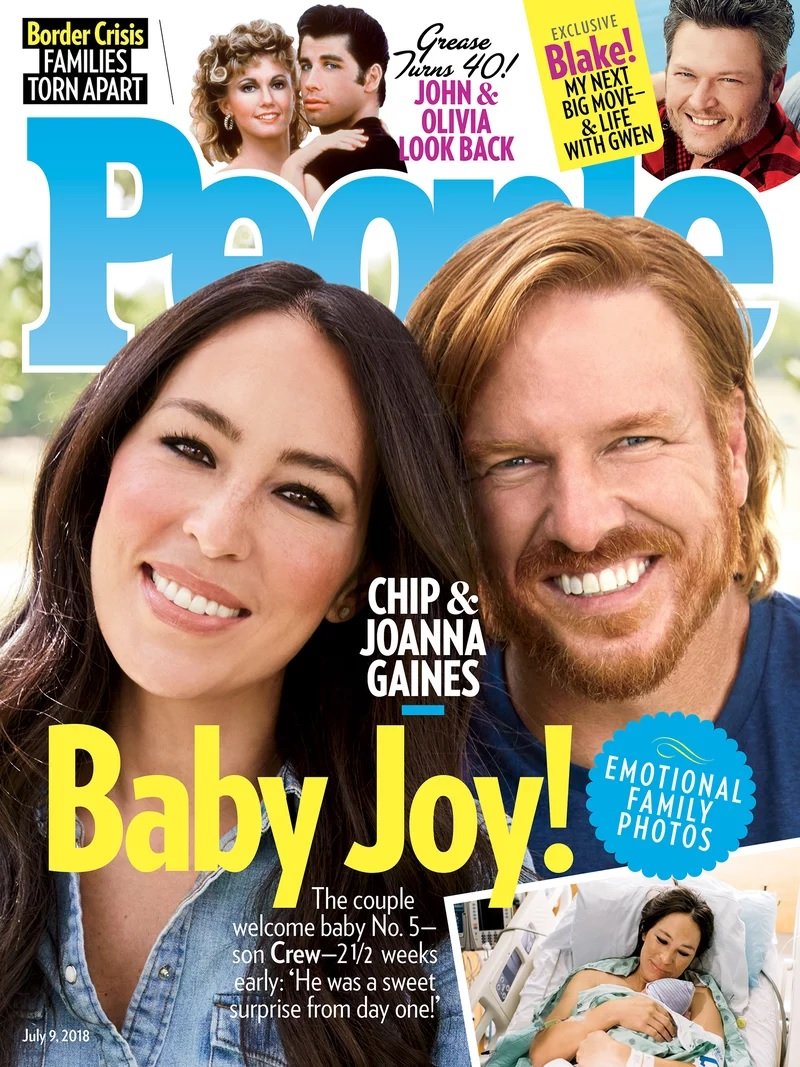 PEOPLE Cover Chip and Joanna Gaines