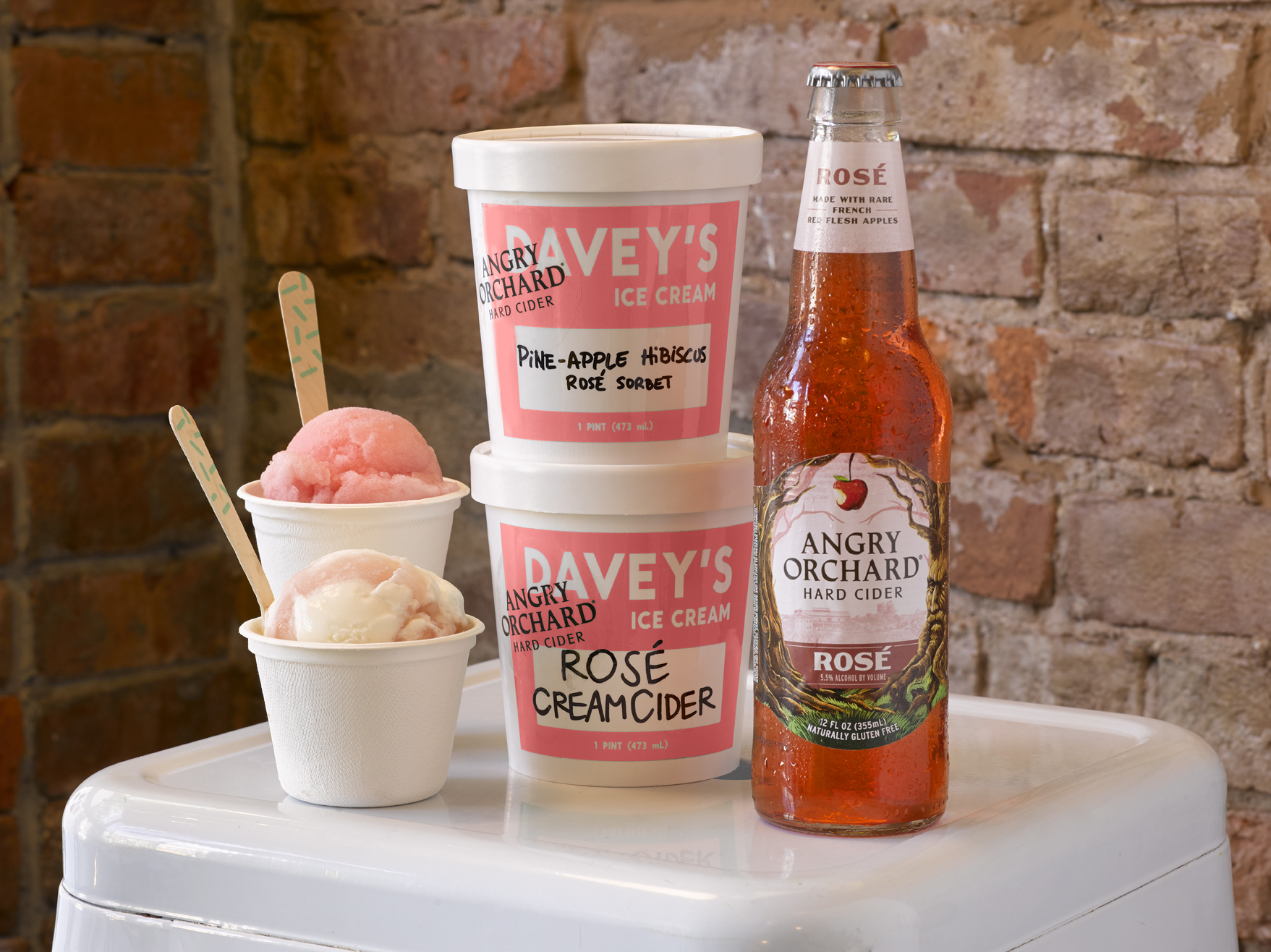 Angry Orchard X Davey's Ice Cream Collab