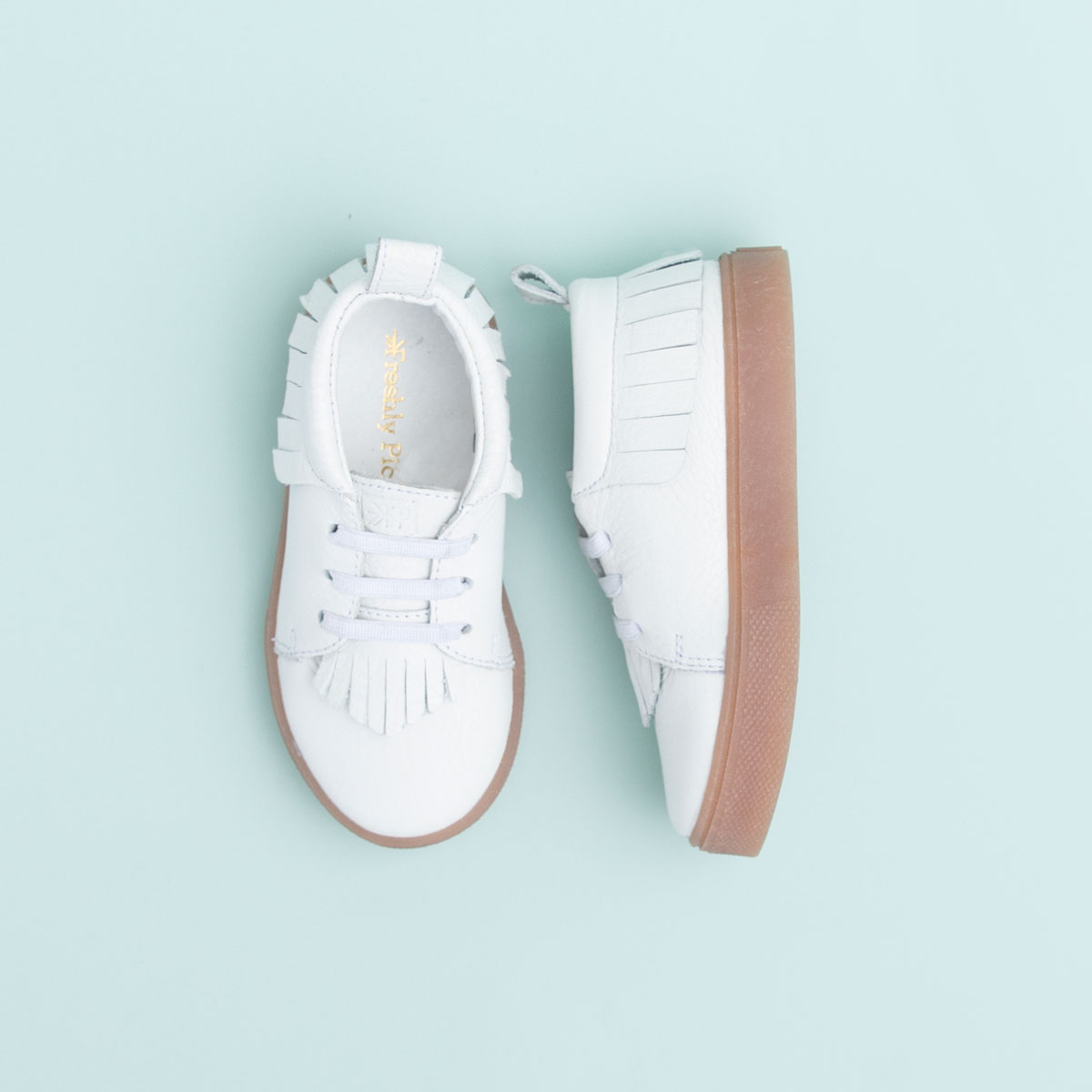 White Freshly Picked Sneakers