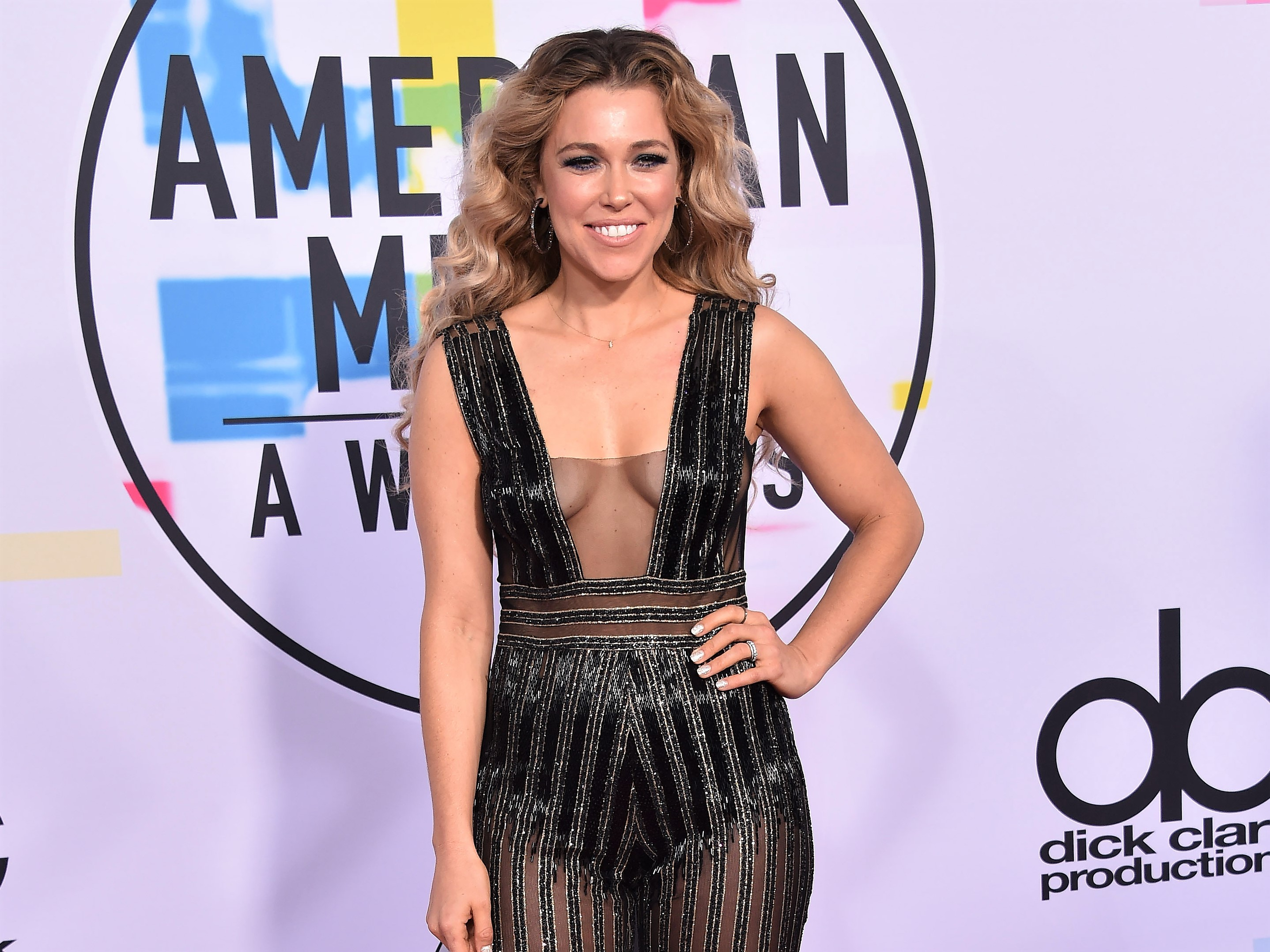 Rachel Platten AMA Red Carpet