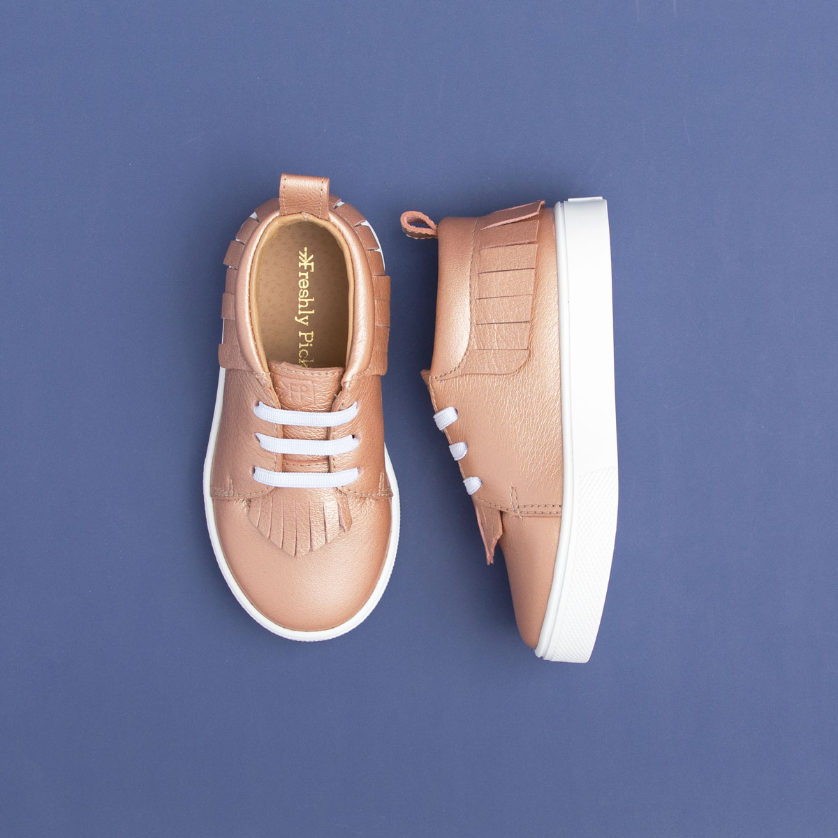 Rose Gold Freshly Picked Sneakers