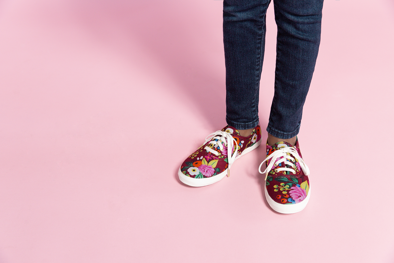 Keds X Rifle Paper Co. Vintage Blossom Anchor Sneaker