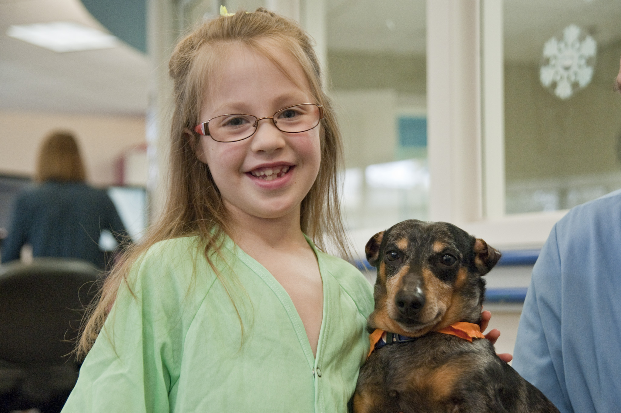 Lee Roy Dachshund Seattle Children's Hospital
