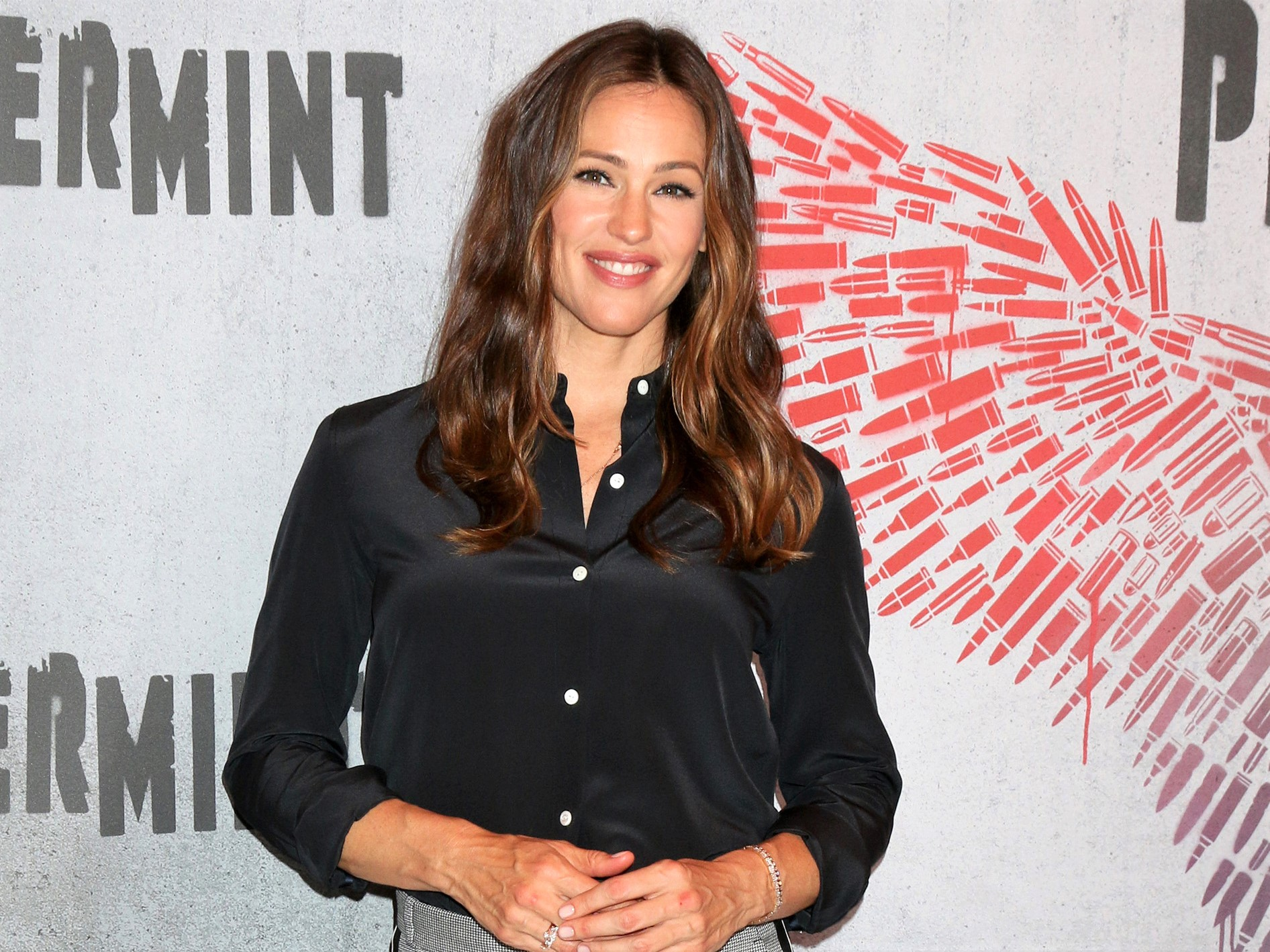 Jennifer Garner Peppermint Carpet Event