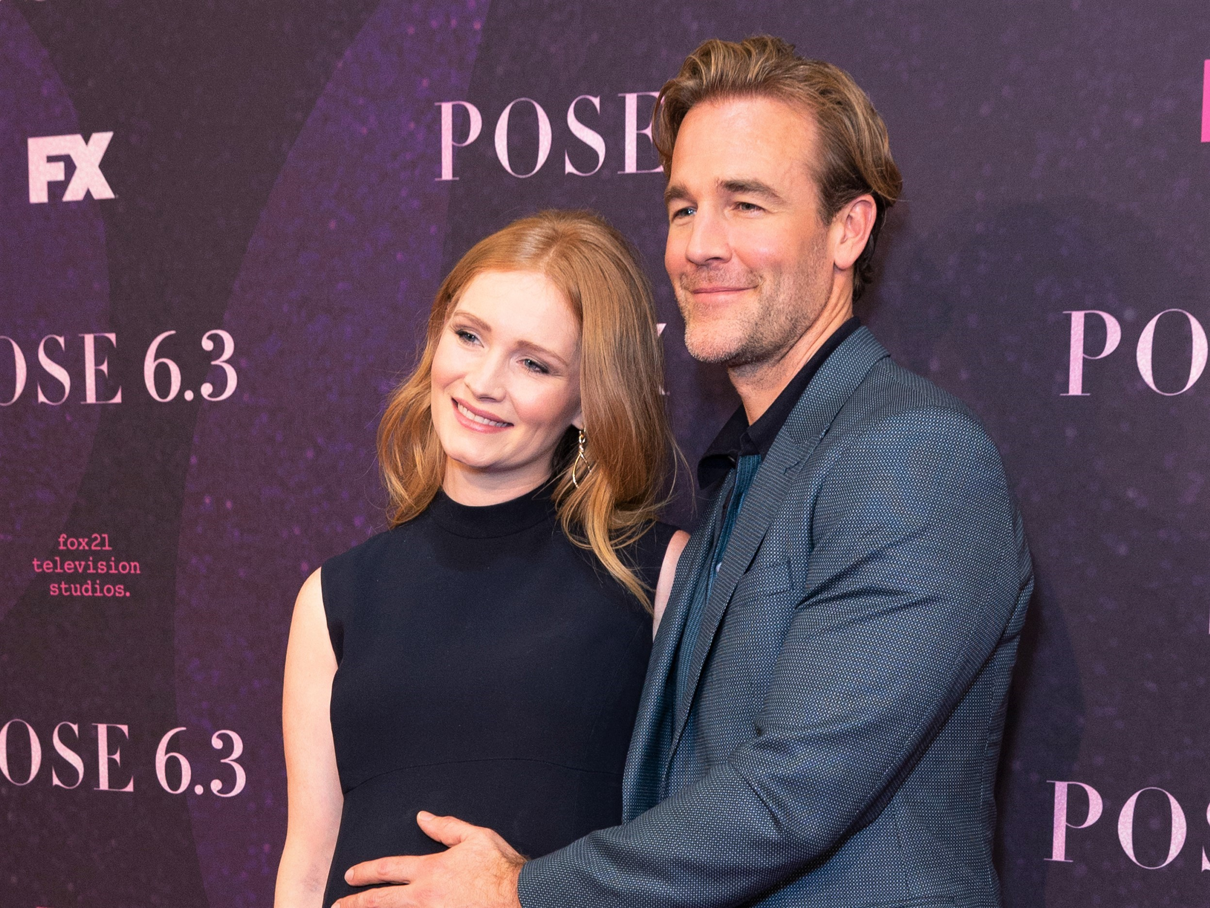 James Van Der Beek and Kimberly Brook Carpet Event
