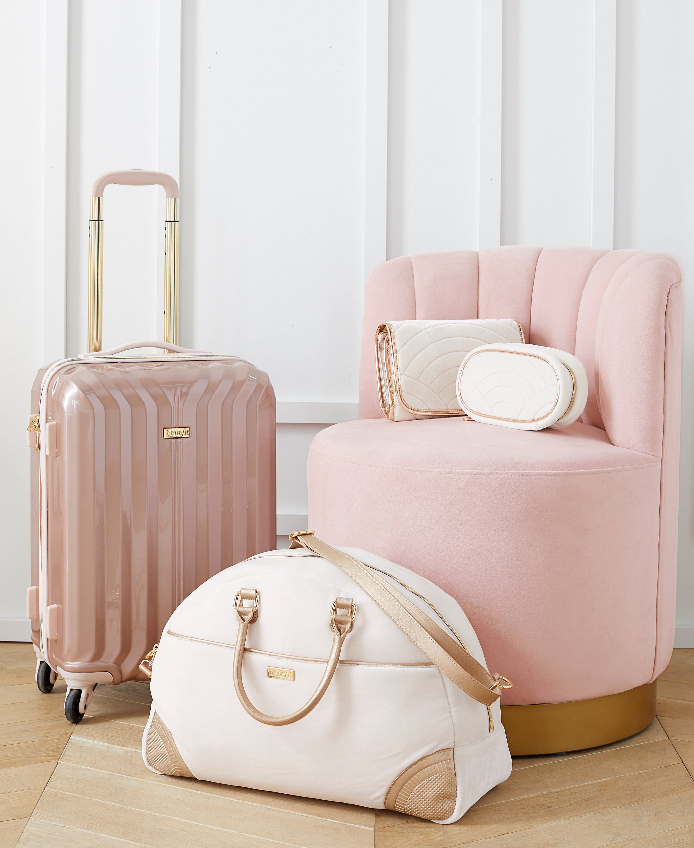 Benefit x PB Teen Luggage