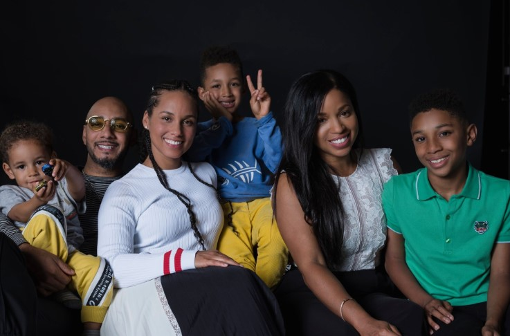Mashonda Tifrere Alicia Keys Co-Parent