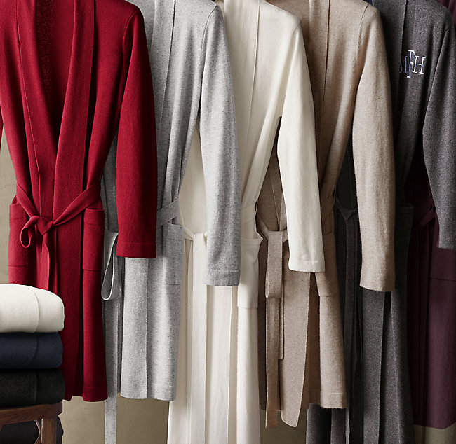 Cashmere Spa Robe