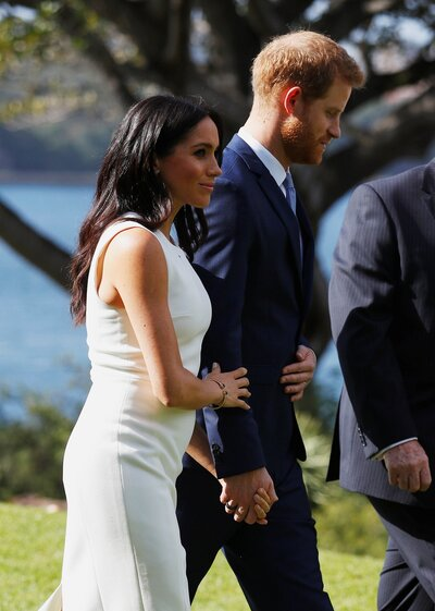 2634cabbeb754 Meghan Markle Just Debuted Her Baby Bump | Parents