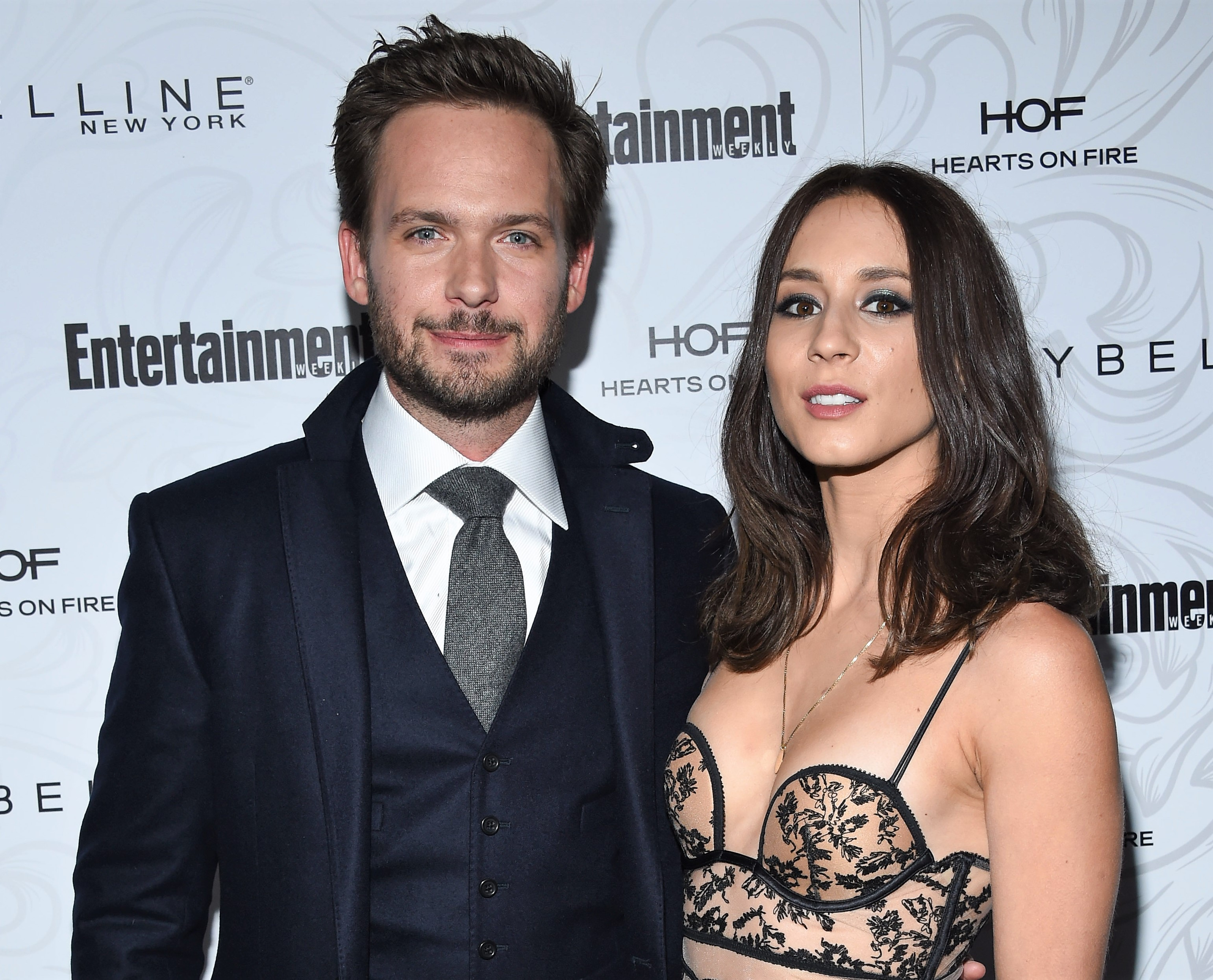 Pretty Little Liars Star Troian Bellisario and Patrick J Adams Suits Actor