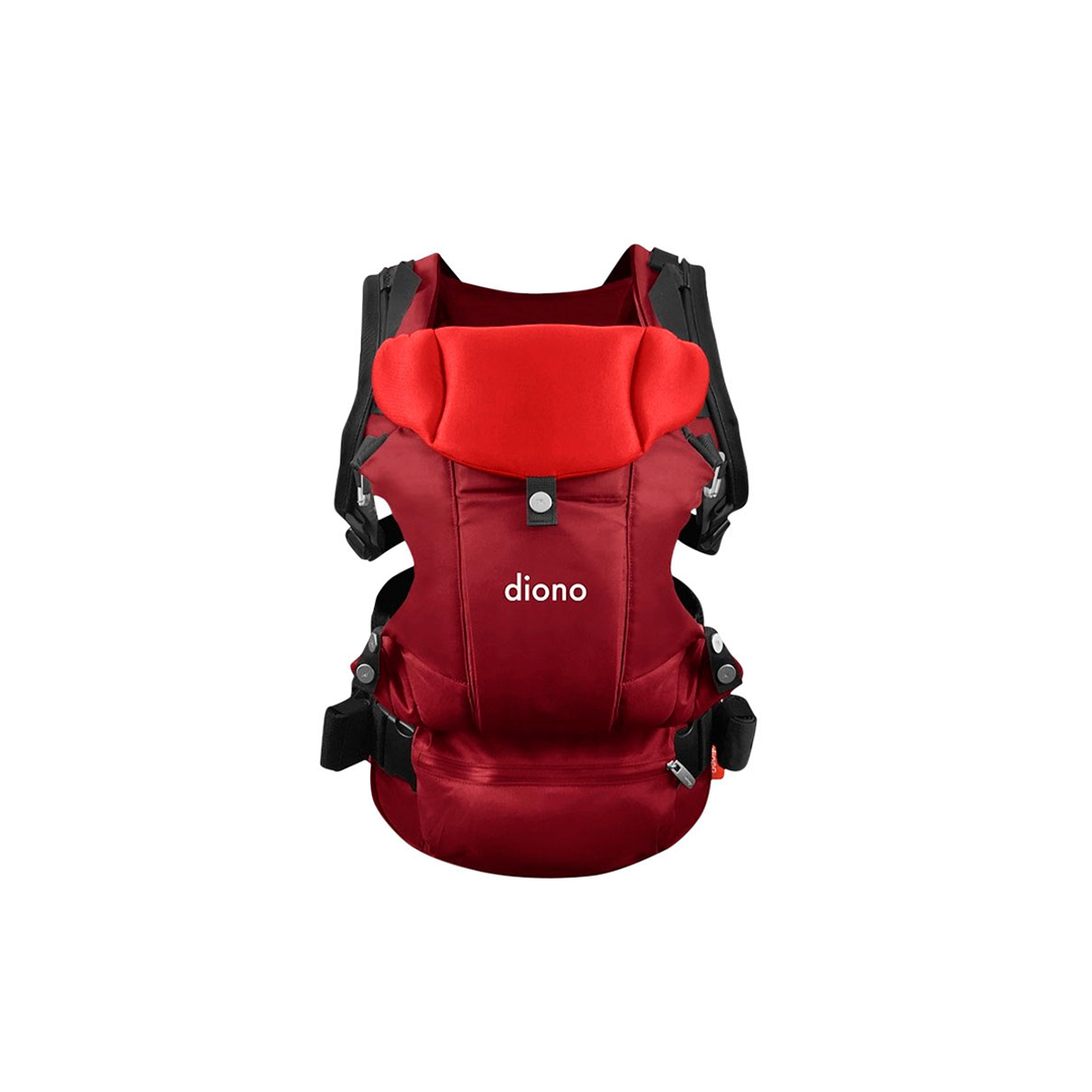 water resistant light weight red diono carus essentials baby carrier