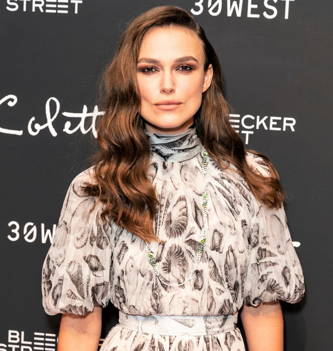 Keira Knightley Movie Premiere at MoMa