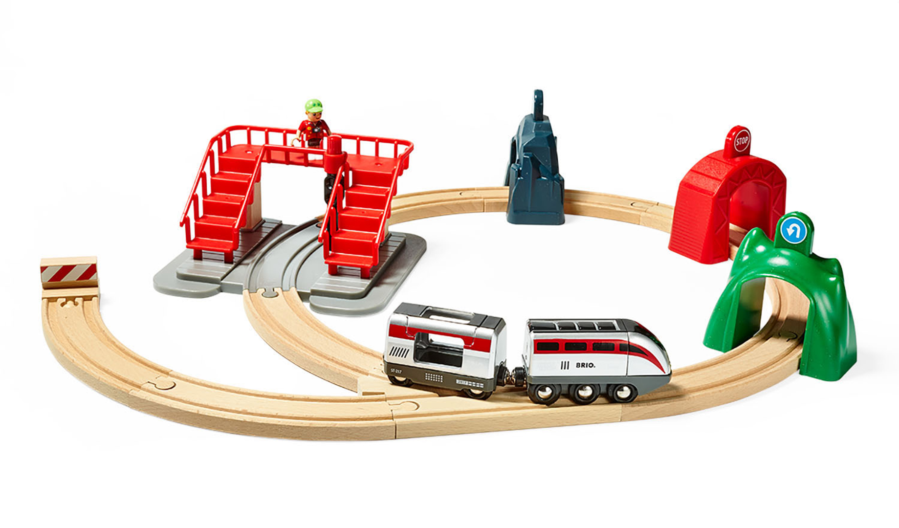 Brio World Smart Engine Set With Action Tunnels