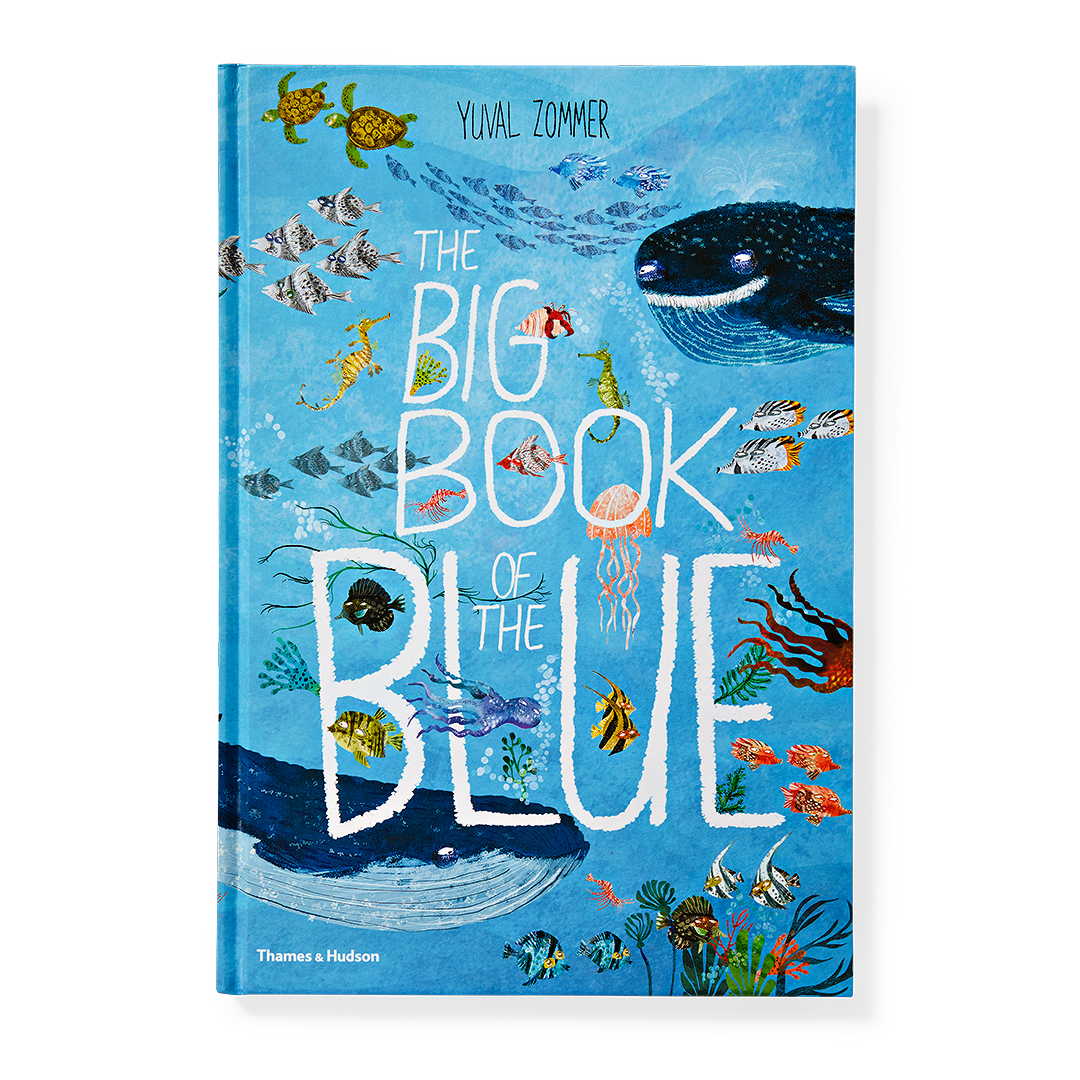 The Big Book of the Blue book with sea creatures