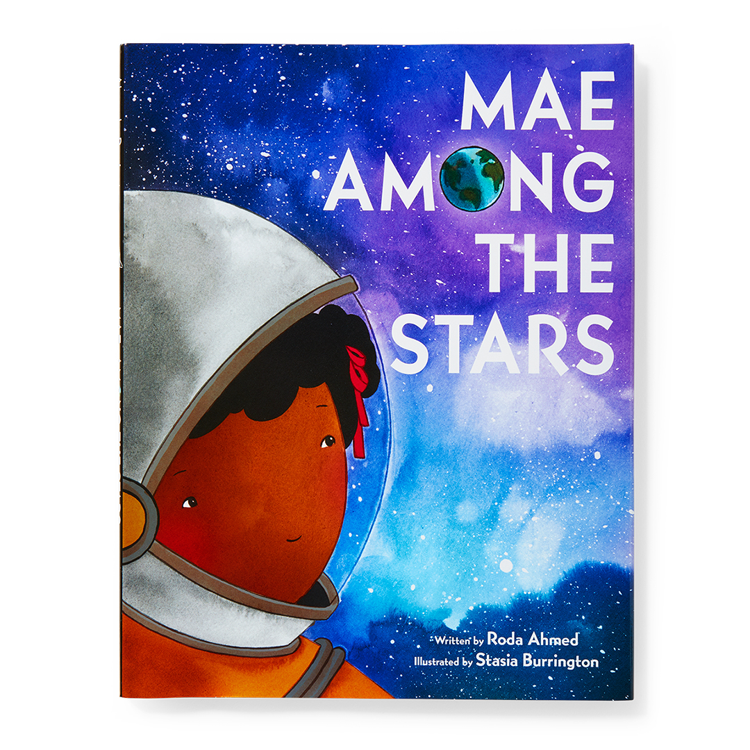 Mae Among the Stars book astronaut in space