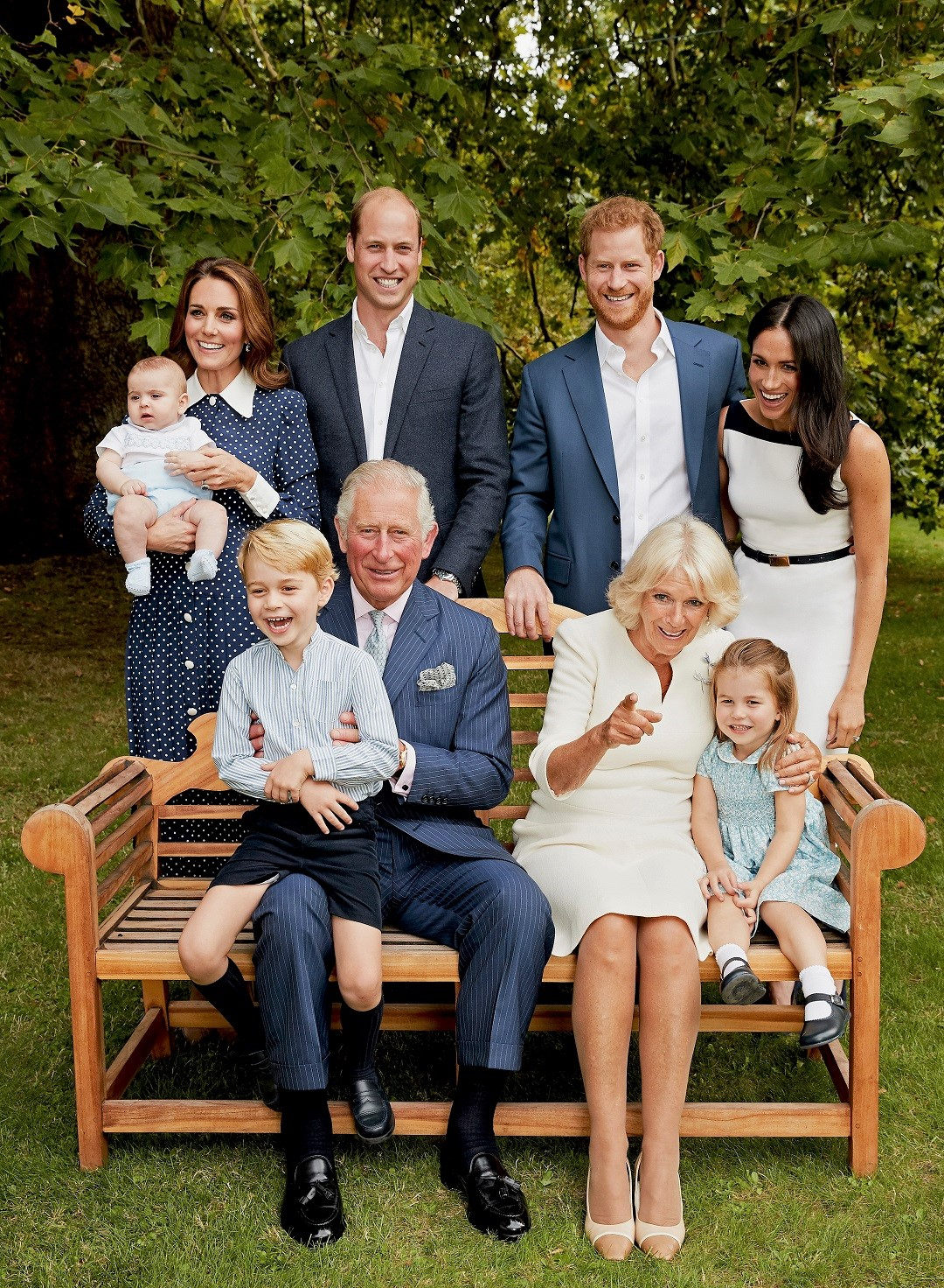 Royal Family Prince Harry Prince Meghan Markle Prince Charles Prince George Prince William Kate Middleton Camilla Parker Bowles