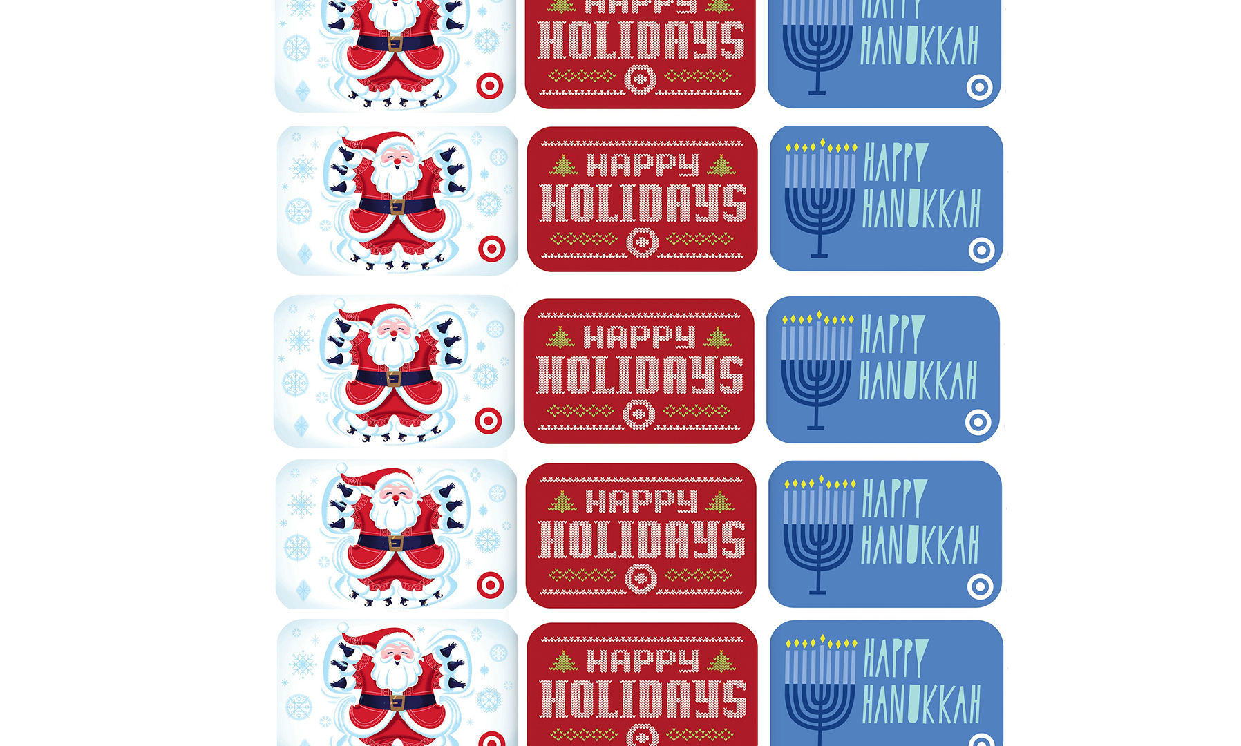 Target Holiday Gift Cards