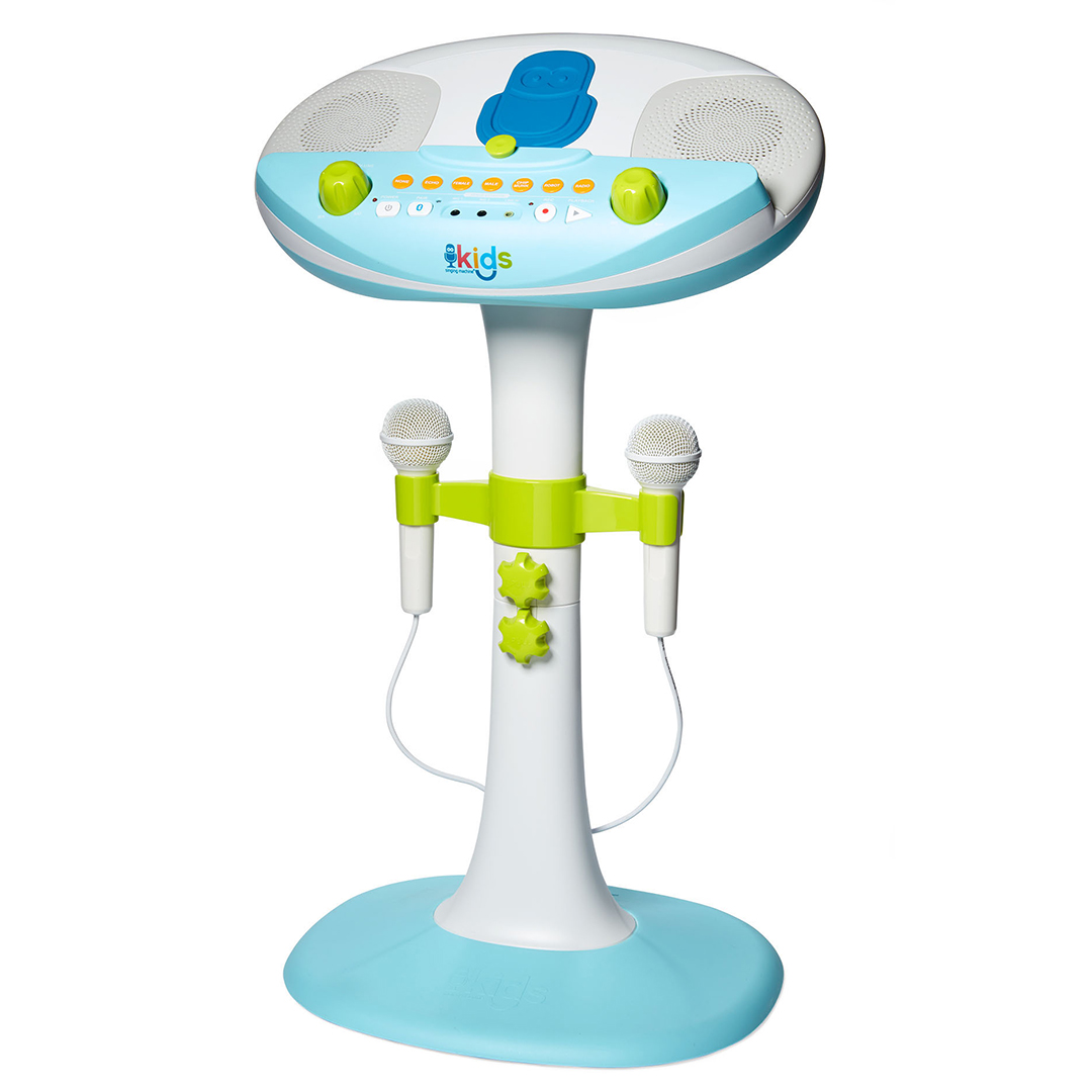 singing machine kids pedestal toy gift