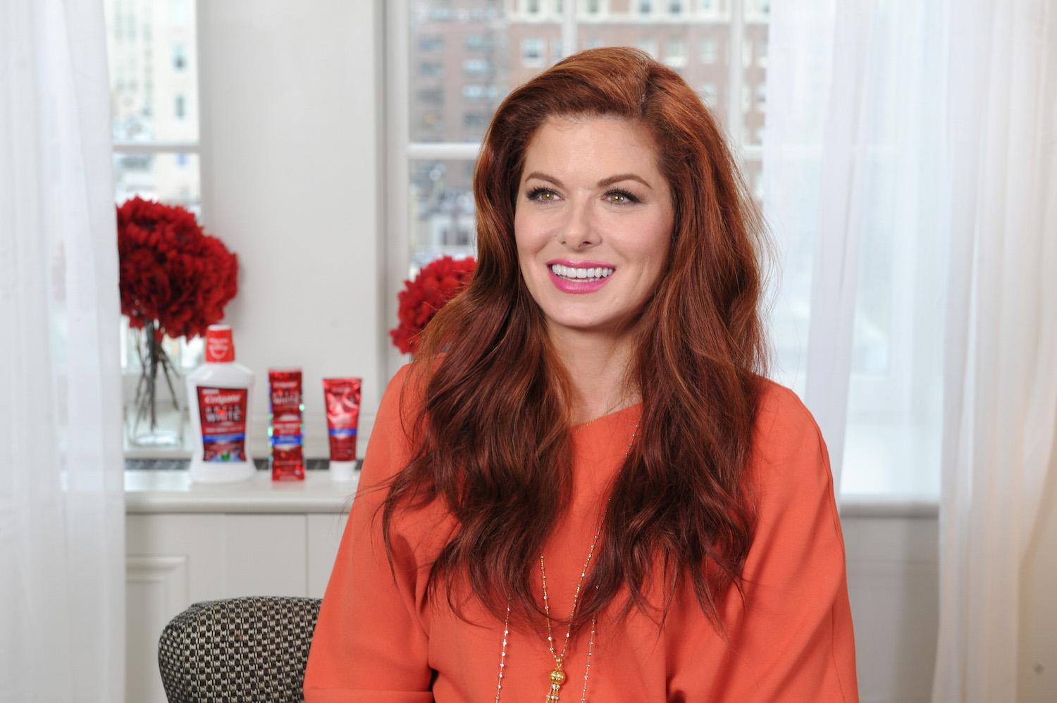 Debra Messing Colgate