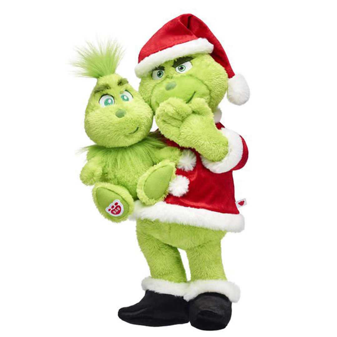 Build A Bear Grinch Plush
