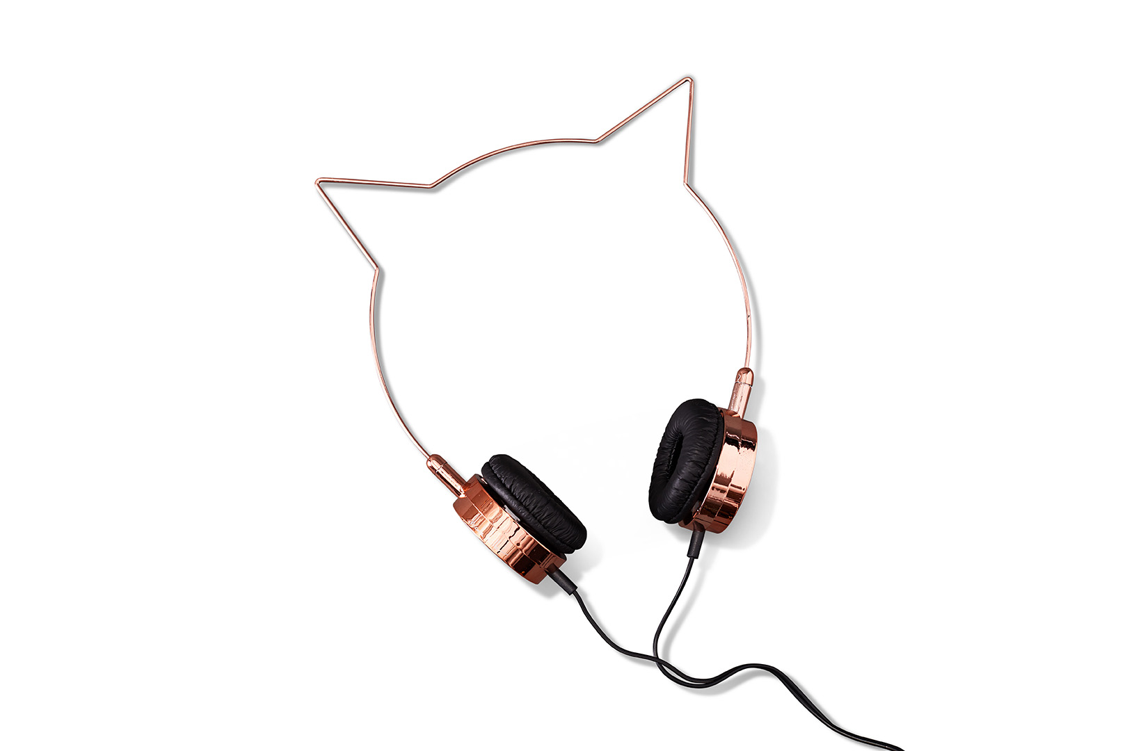 Cat Rose Gold Headphones