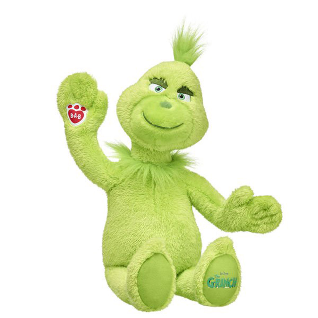 Build A Bear Grinch Plush 2